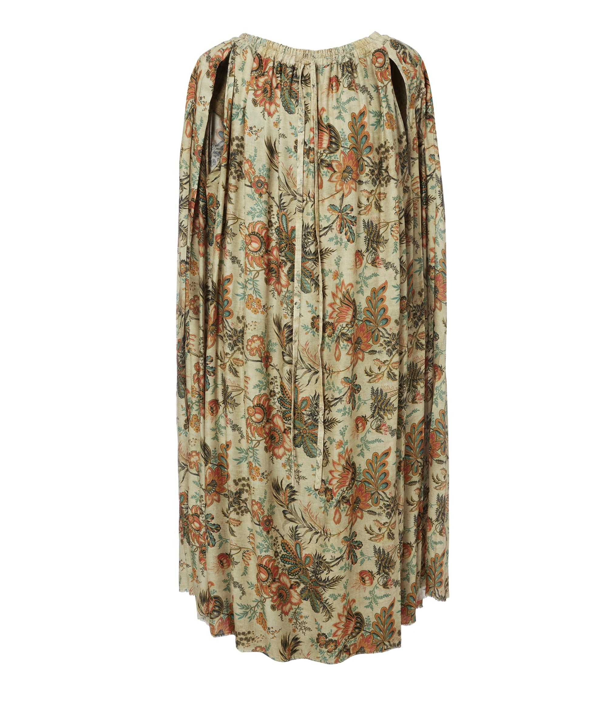 Vivienne Westwood Kilt Dress Beige Old Flowers