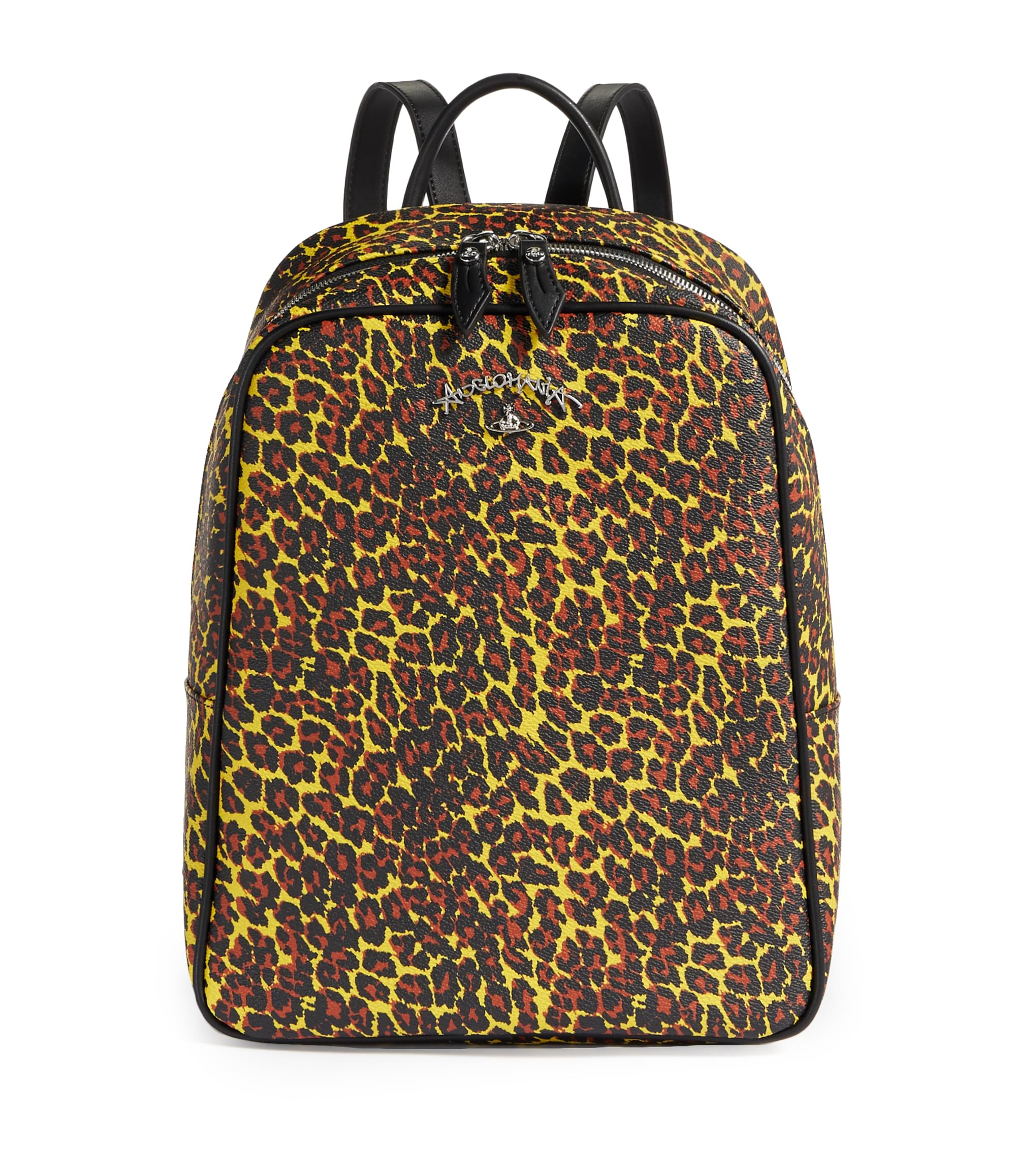 Vivienne Westwood Leopard Backpack 190038 Yellow