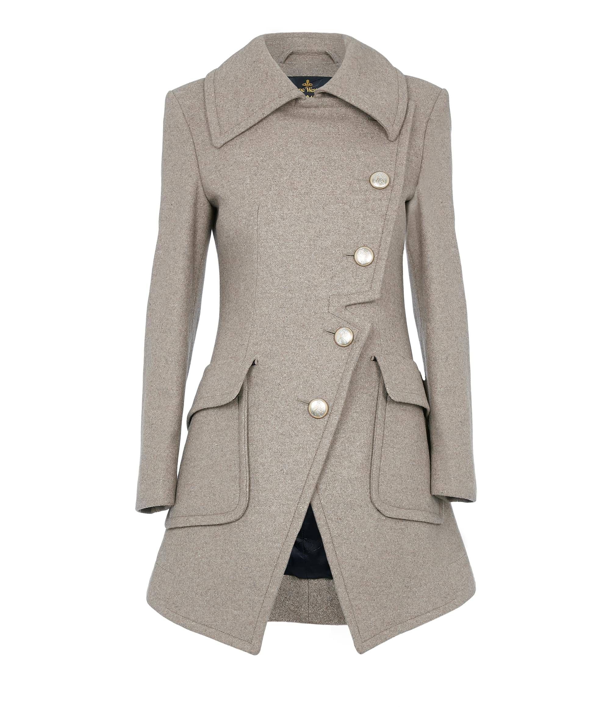 Vivienne Westwood Oatmeal Military Coat