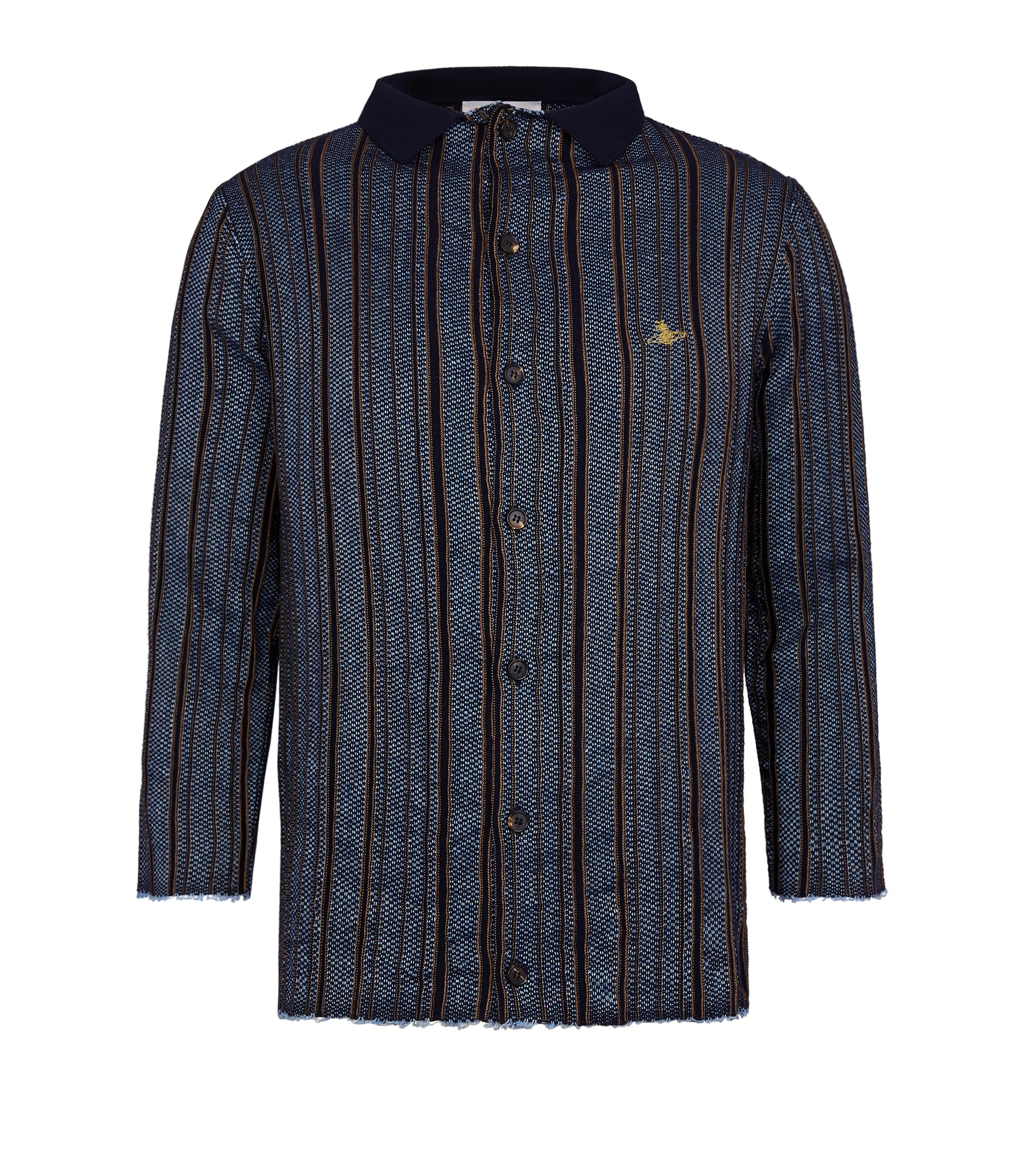 Vivienne Westwood Selvedge Knit Navy Stripes