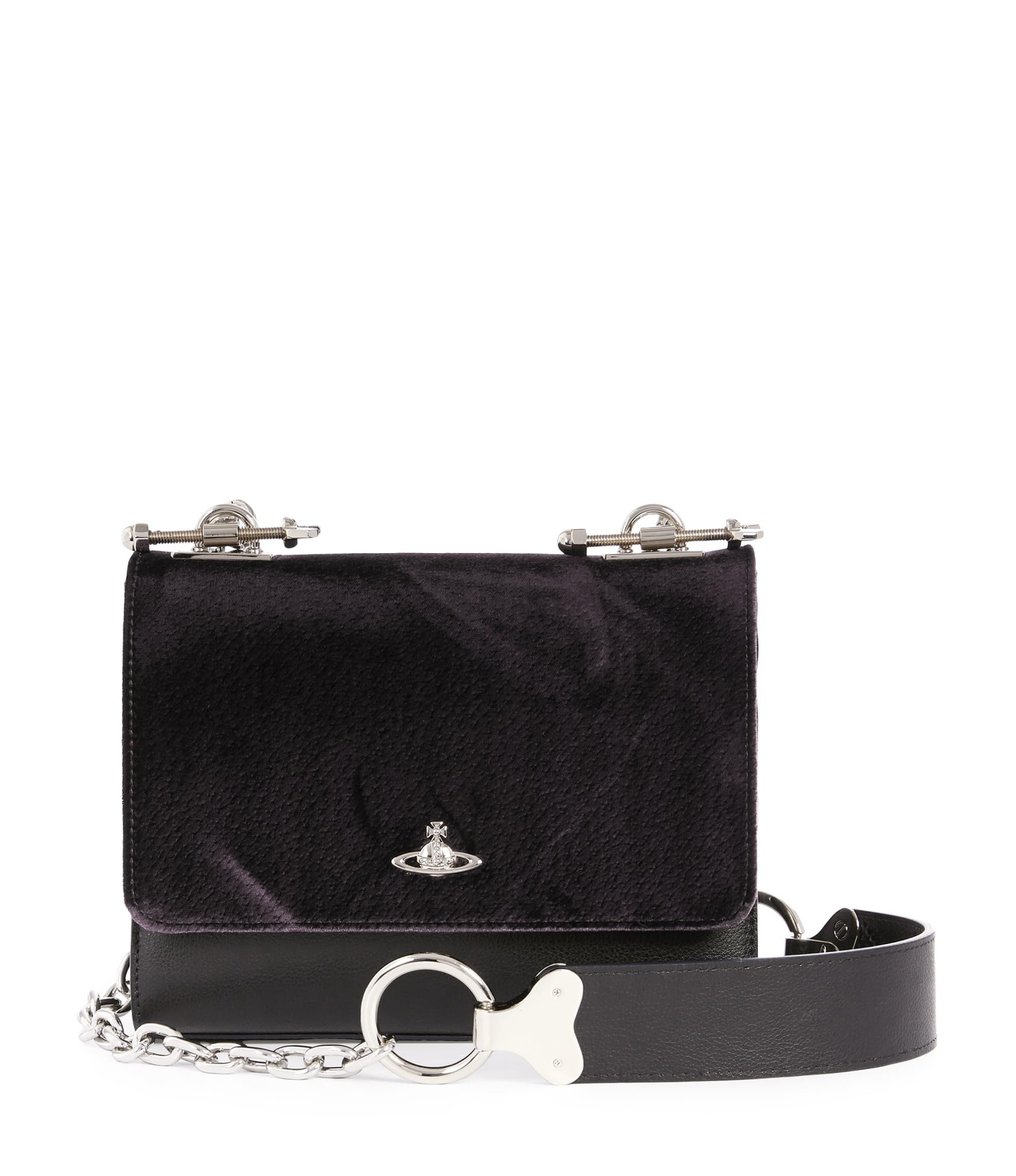 Vivienne Westwood Small Sheffield Crossbody 131240 Black