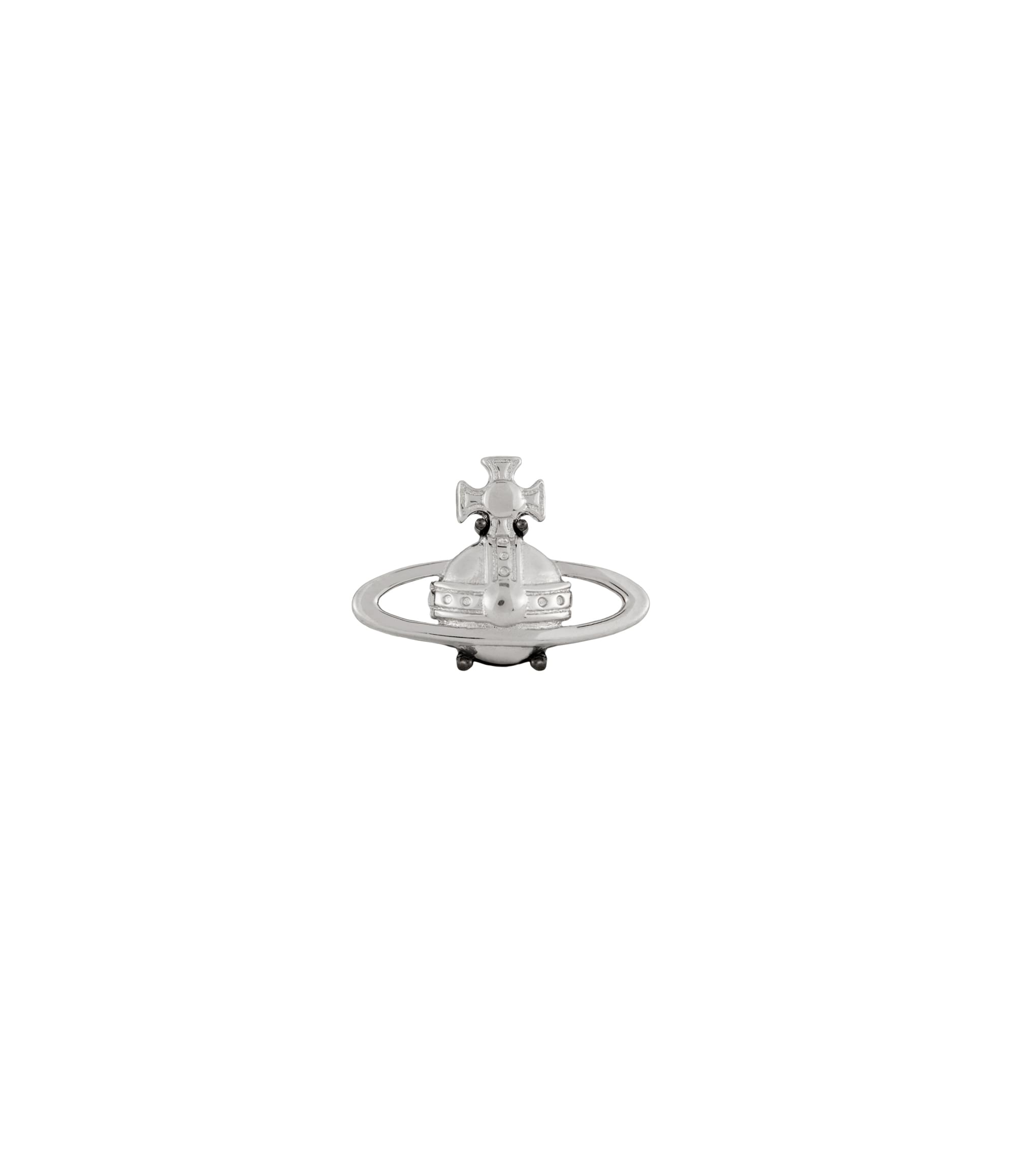 Vivienne Westwood Suzon Single Stud Silver