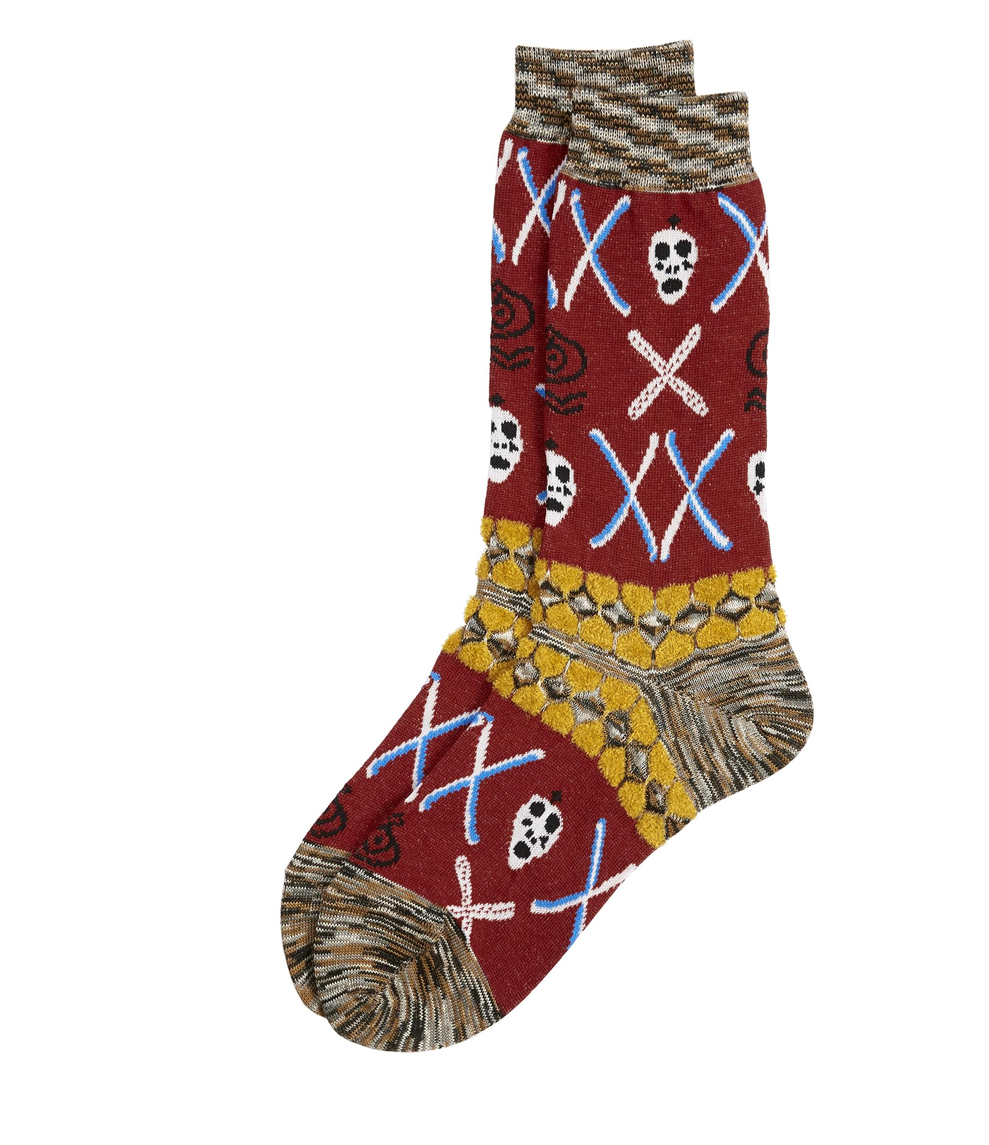Vivienne Westwood Wall Of Spirits Socks Red
