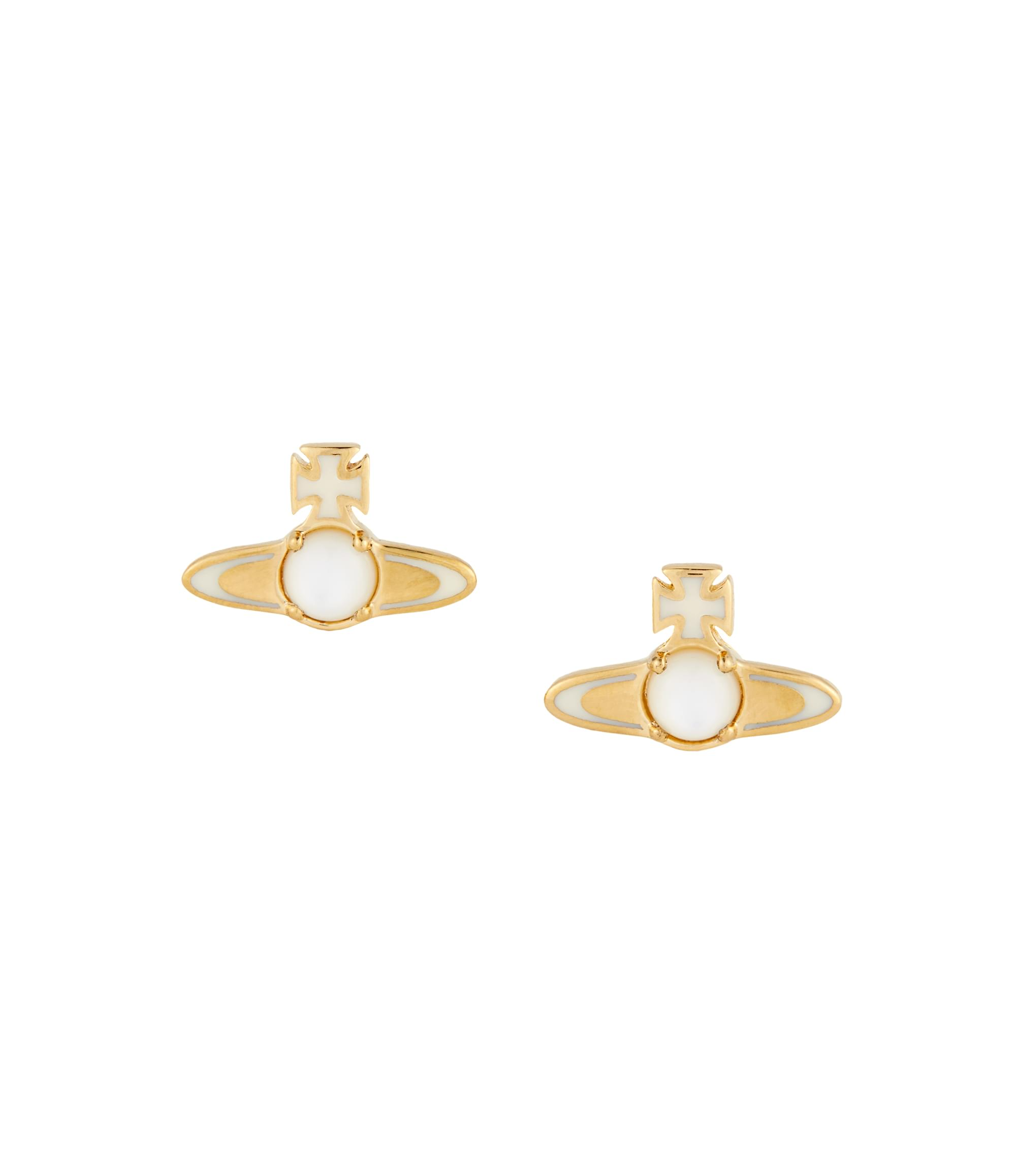Vivienne Westwood Yellow Gold Betsy Earrings