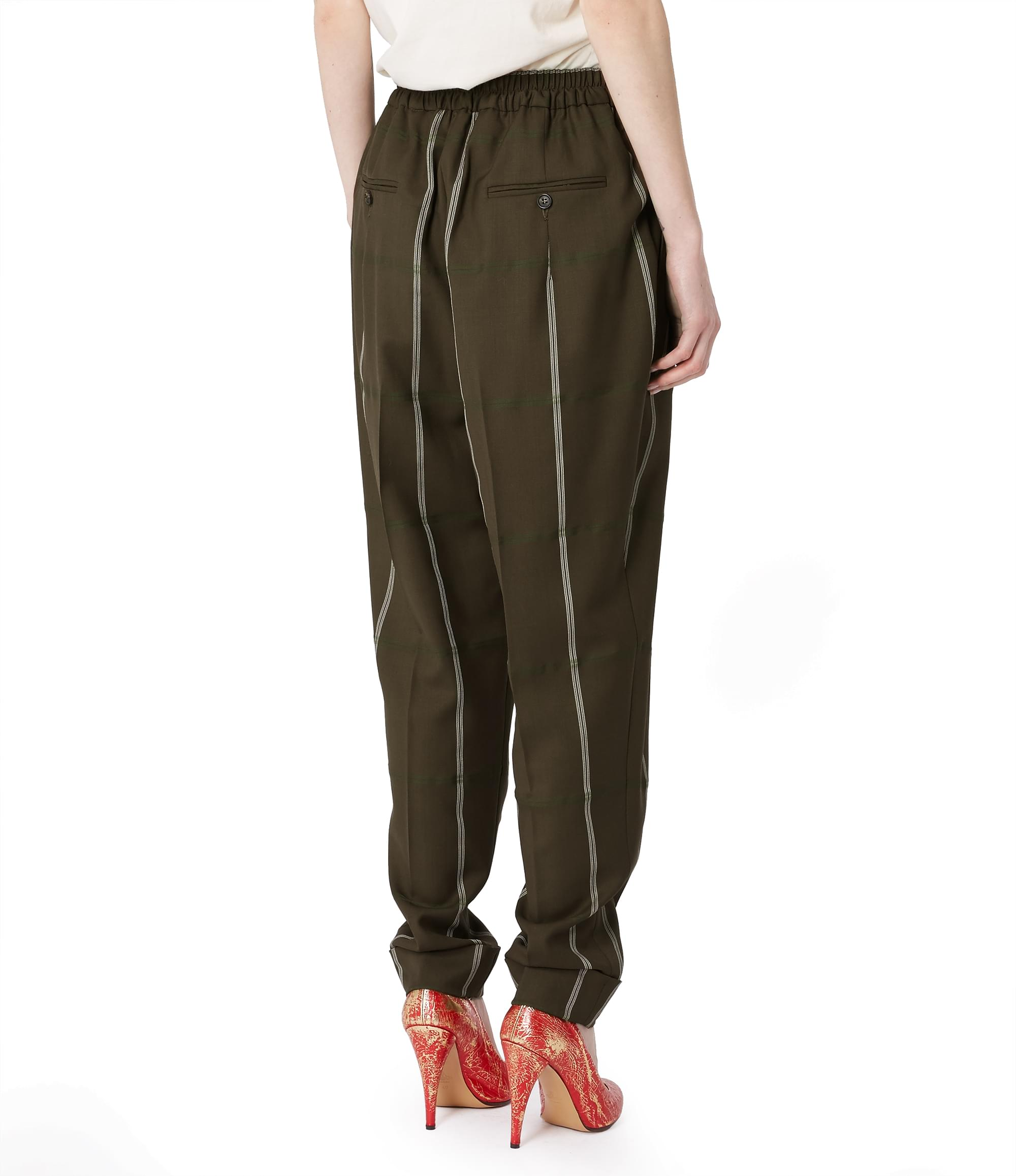 Vivienne Westwood Zoot Trousers Brown Check