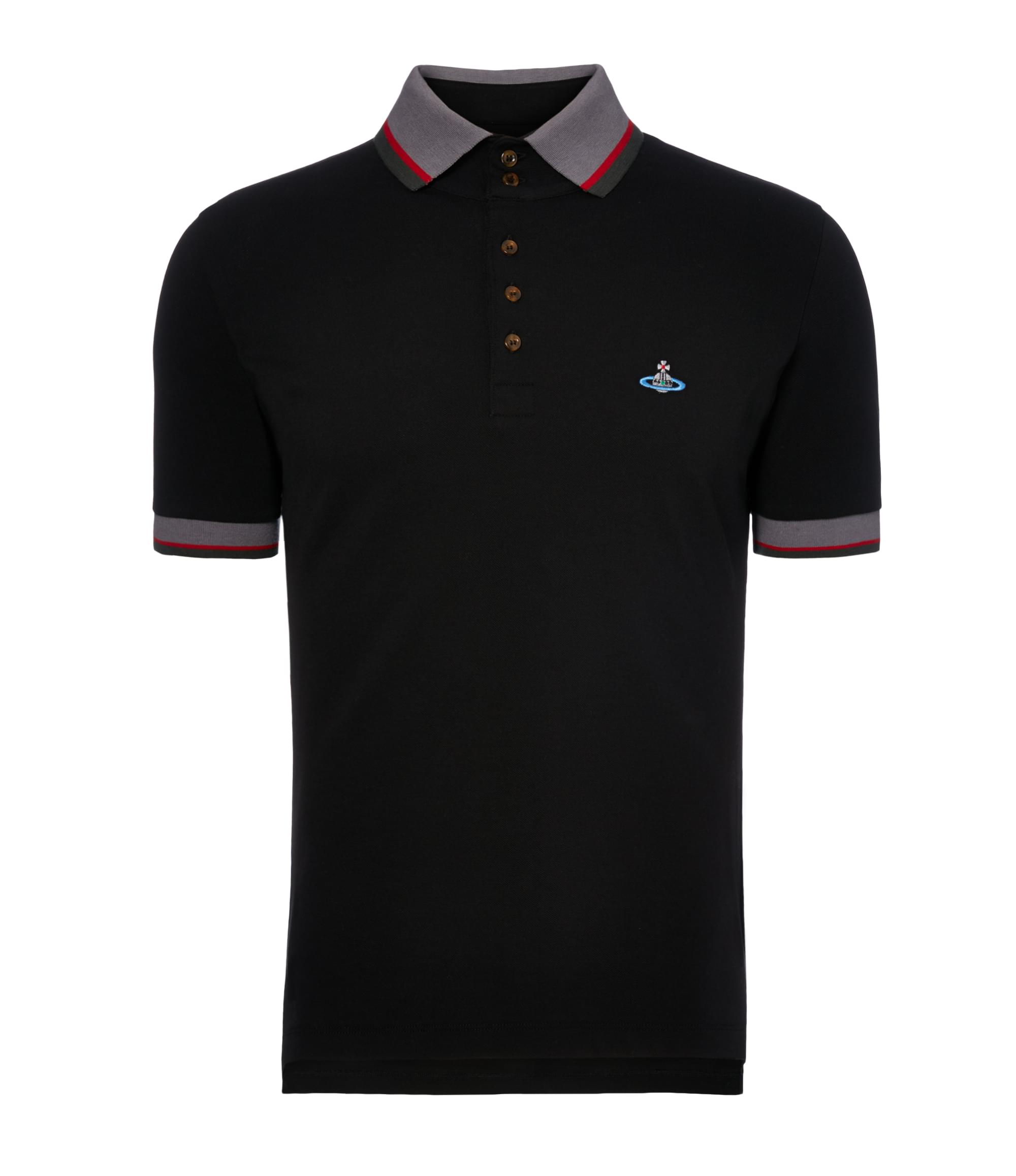 Vivienne Westwood Black Krall Polo