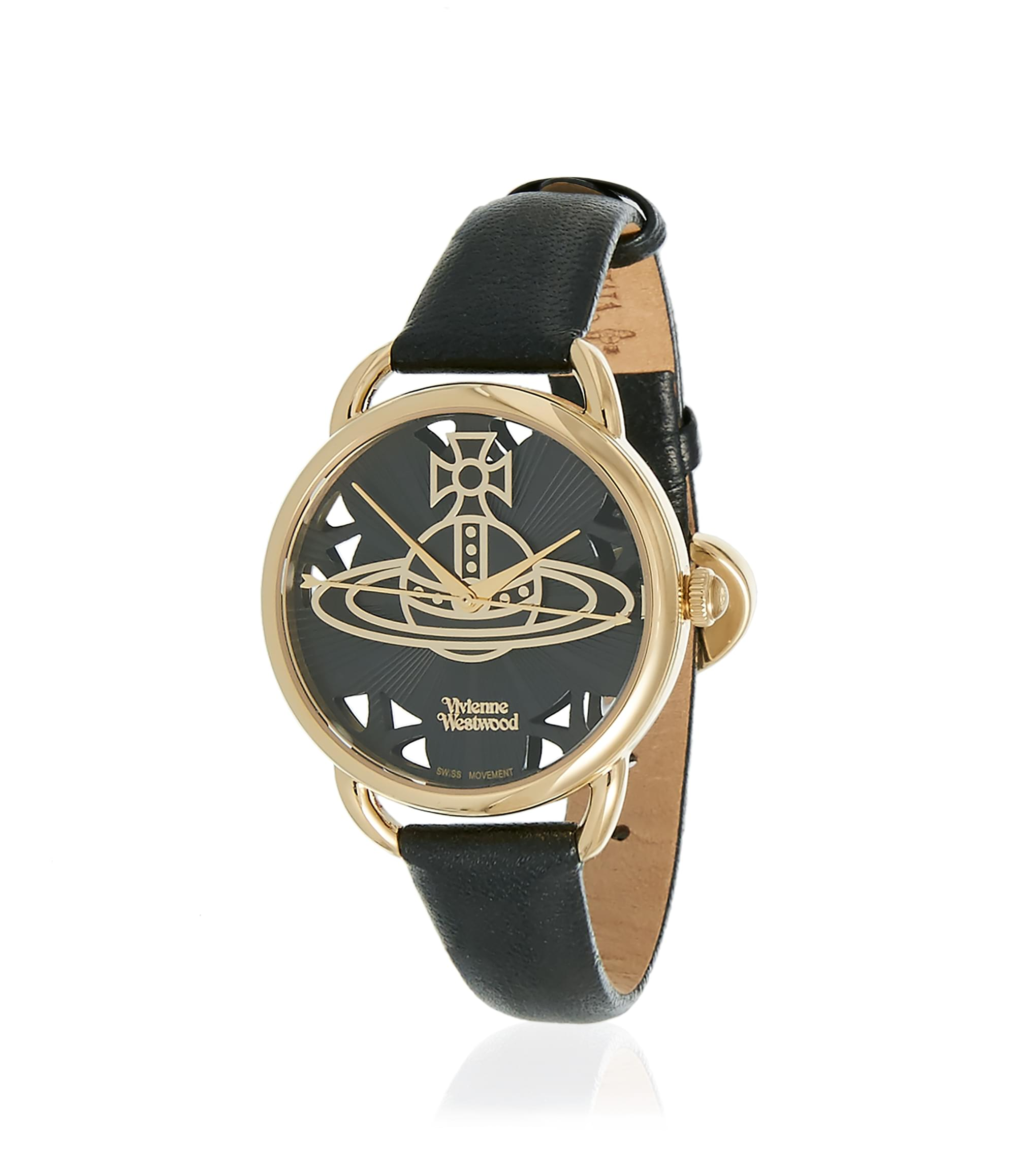 Vivienne Westwood Black Leadenhall Watch