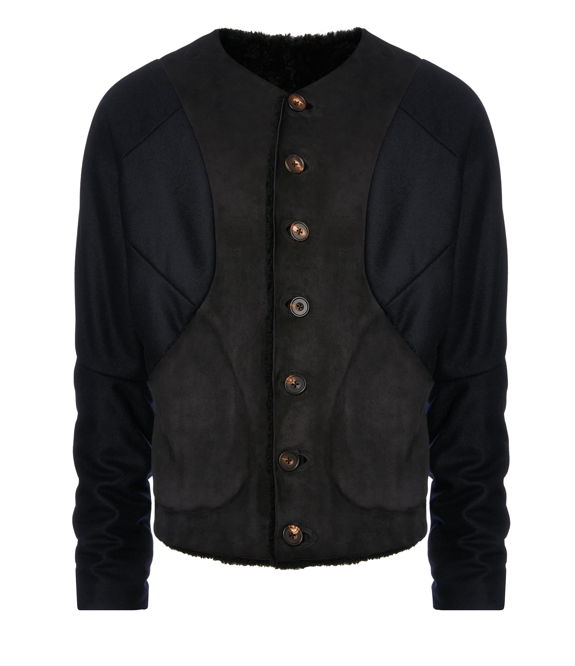 Vivienne Westwood Black Pierre Point Coat