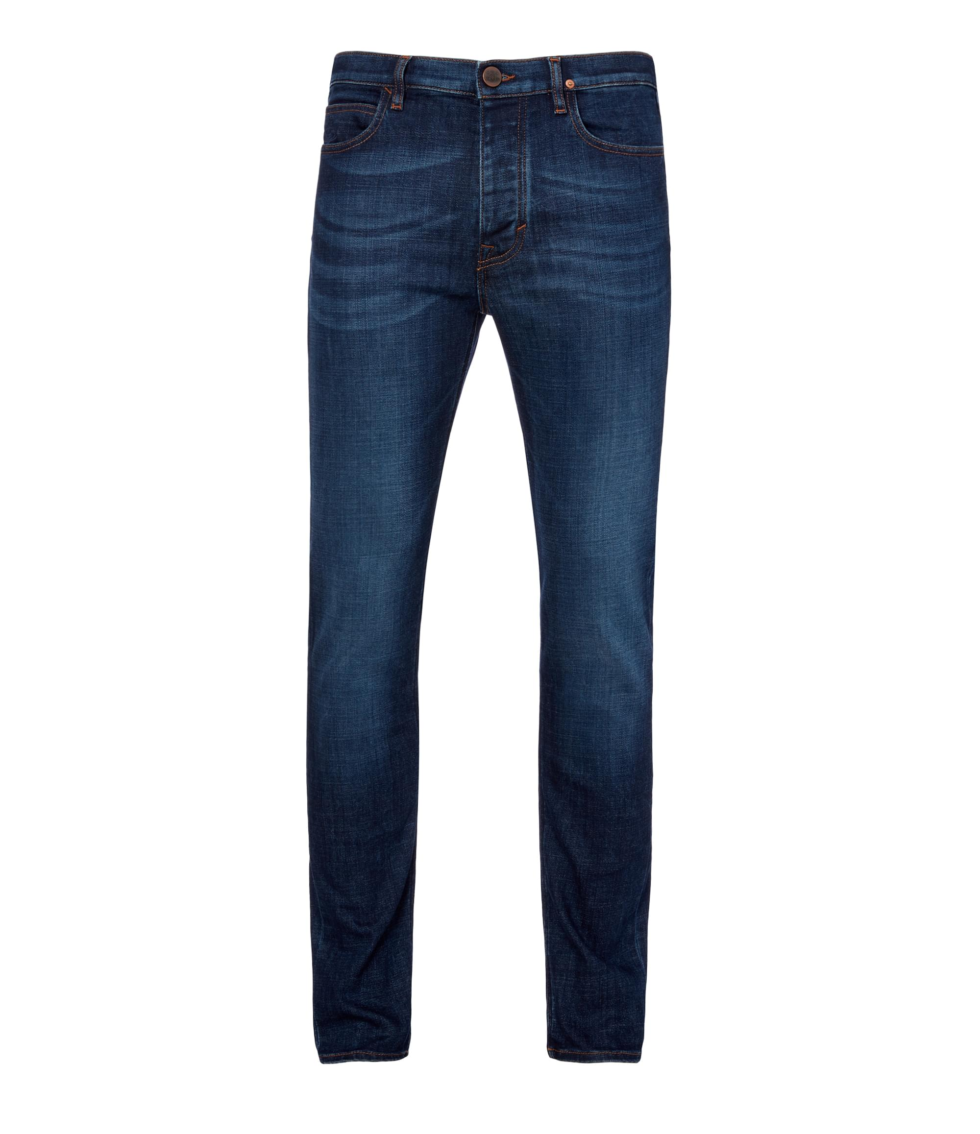 Vivienne Westwood Blue Washed Denim New Classic Tapered Jeans