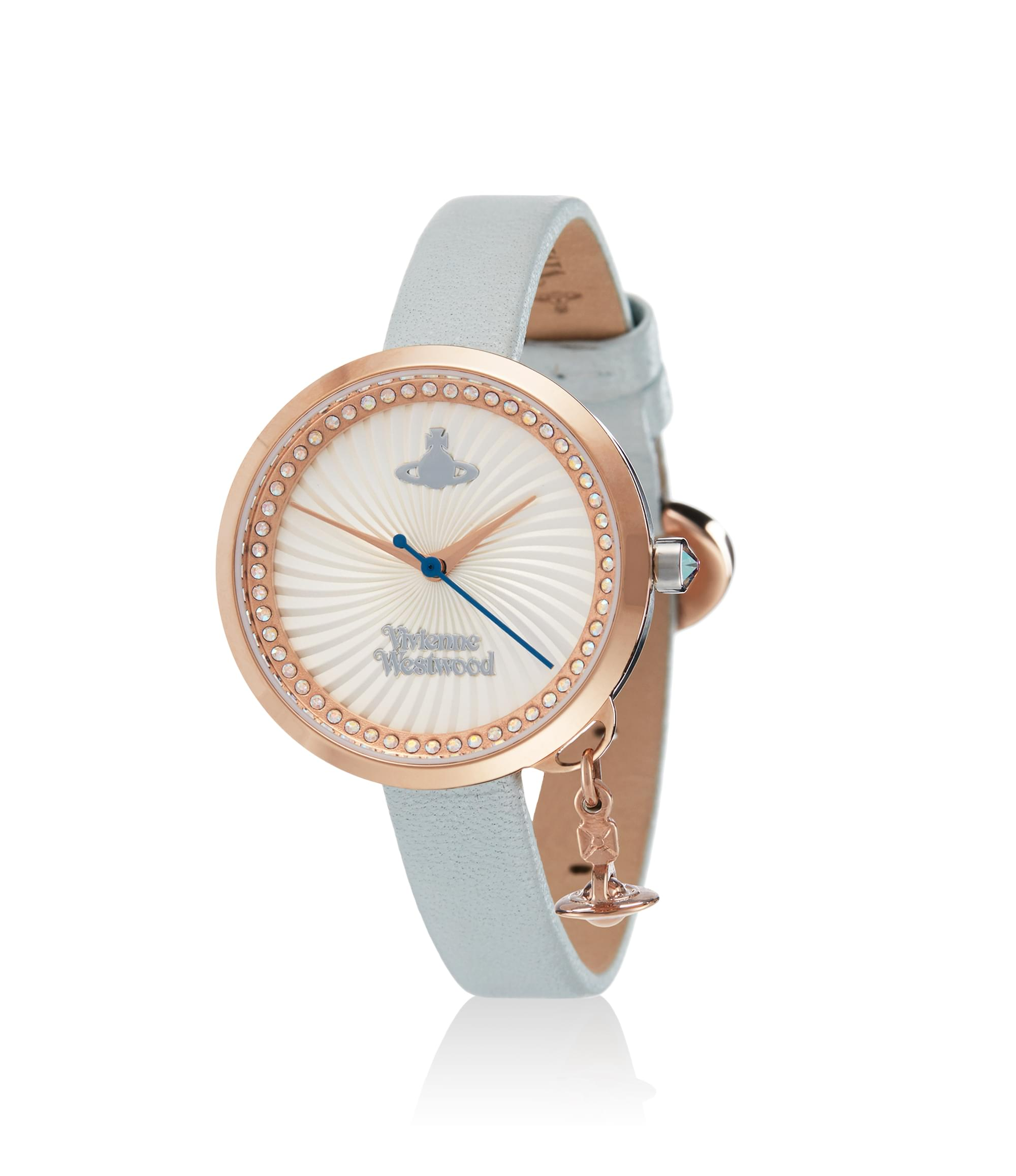 Vivienne Westwood Bow Watch Rose\/Blue