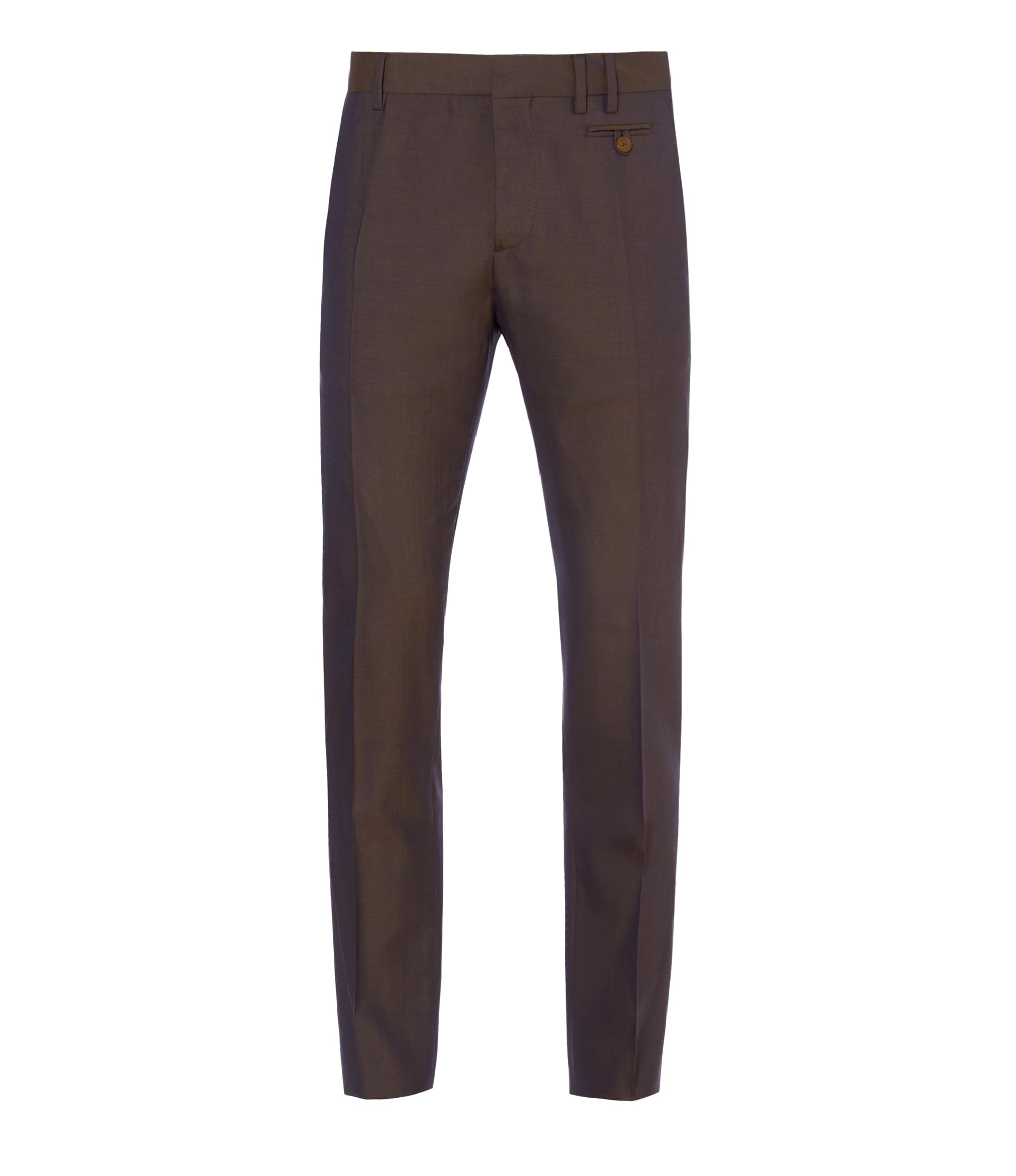 Vivienne Westwood Brown Blue Classic Trousers