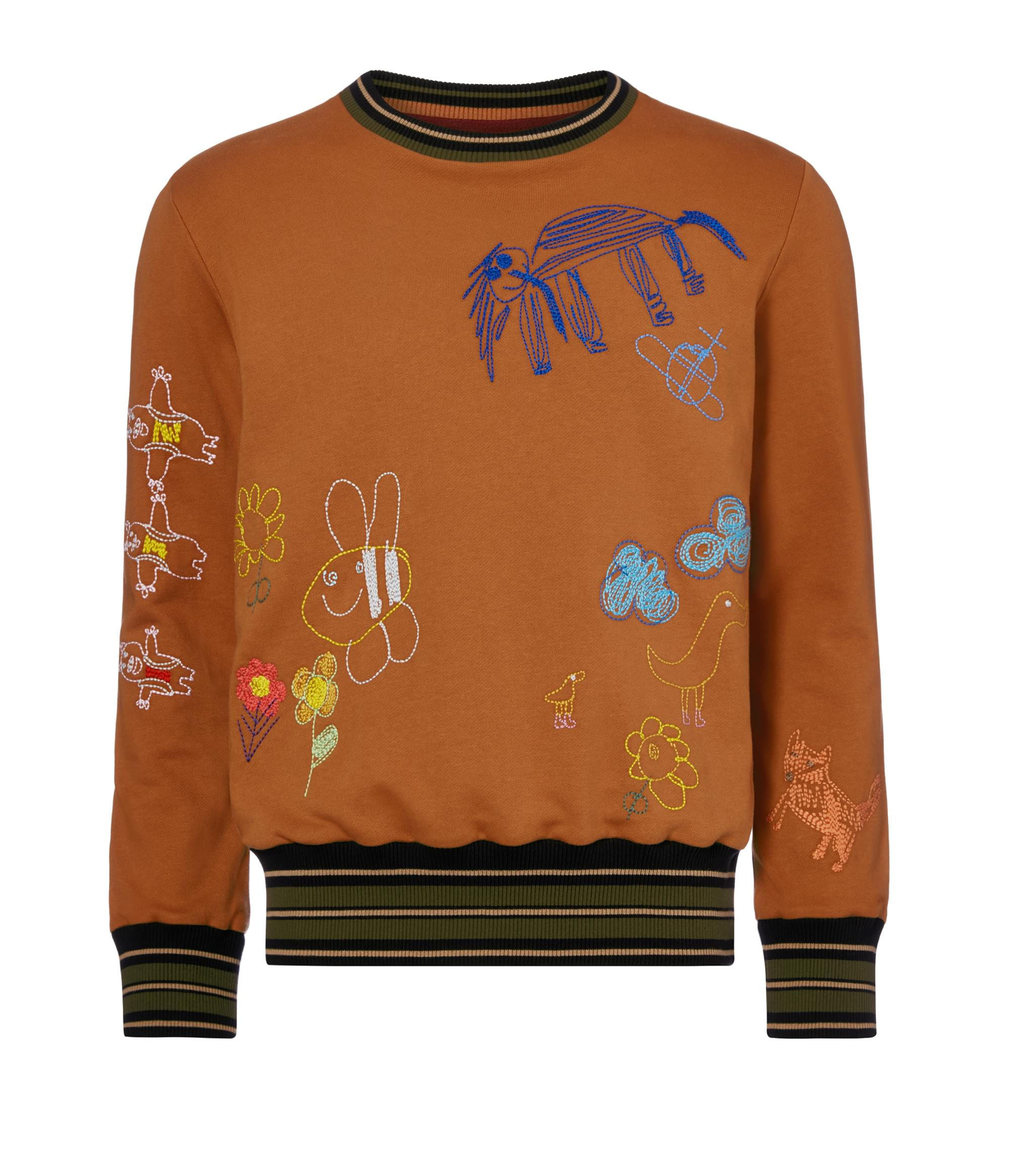 Vivienne Westwood Children Embroidery Sweatshirt