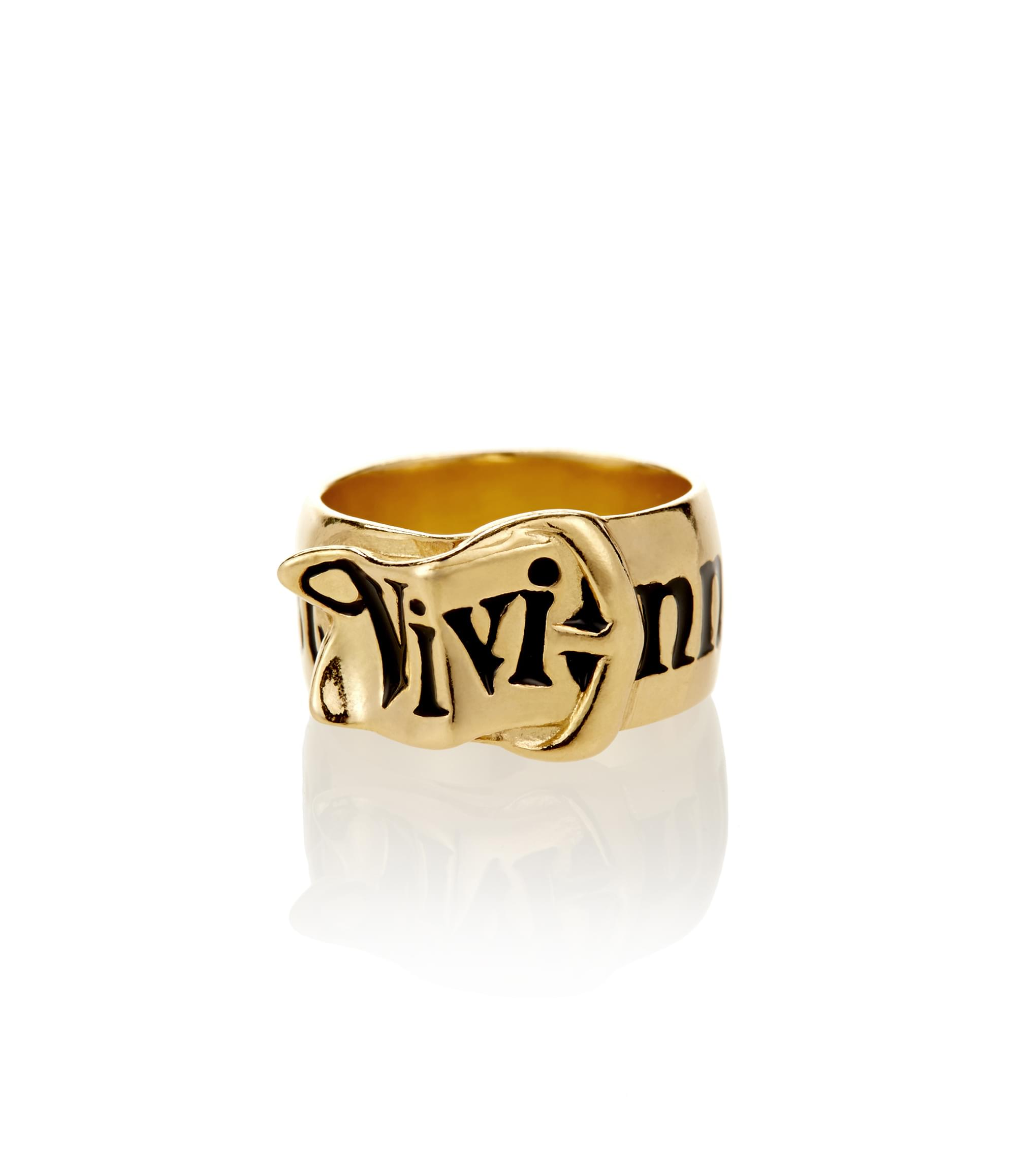 Vivienne Westwood Gold Belt Ring
