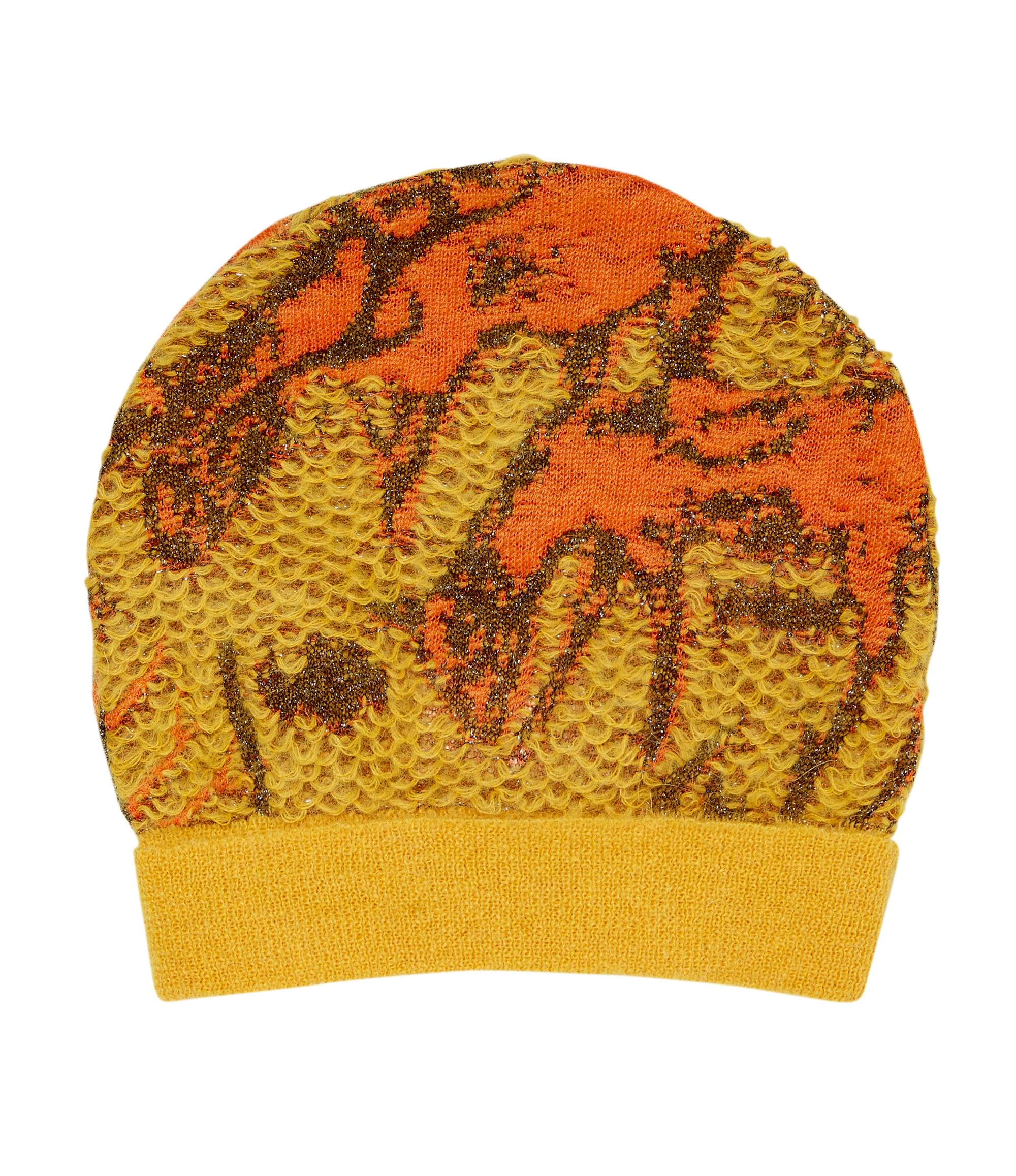 Vivienne Westwood Knitted Yellow Deer Beanie