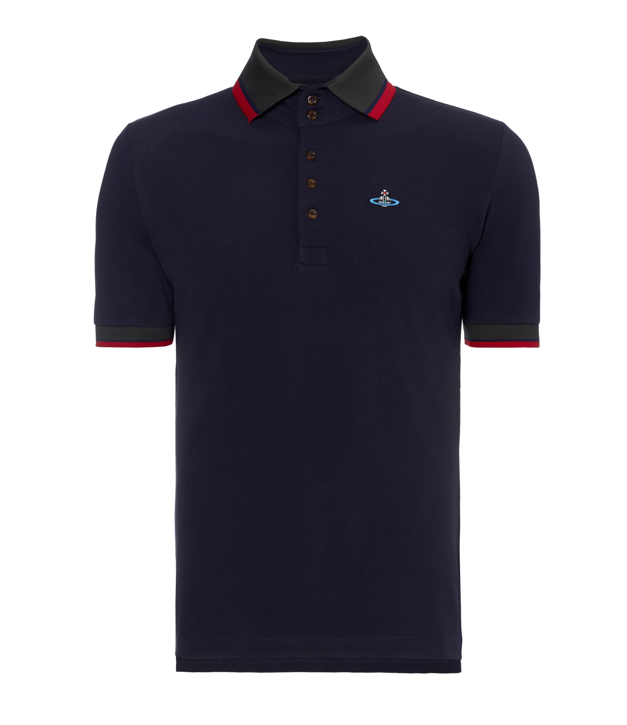 Vivienne Westwood Navy Krall Polo