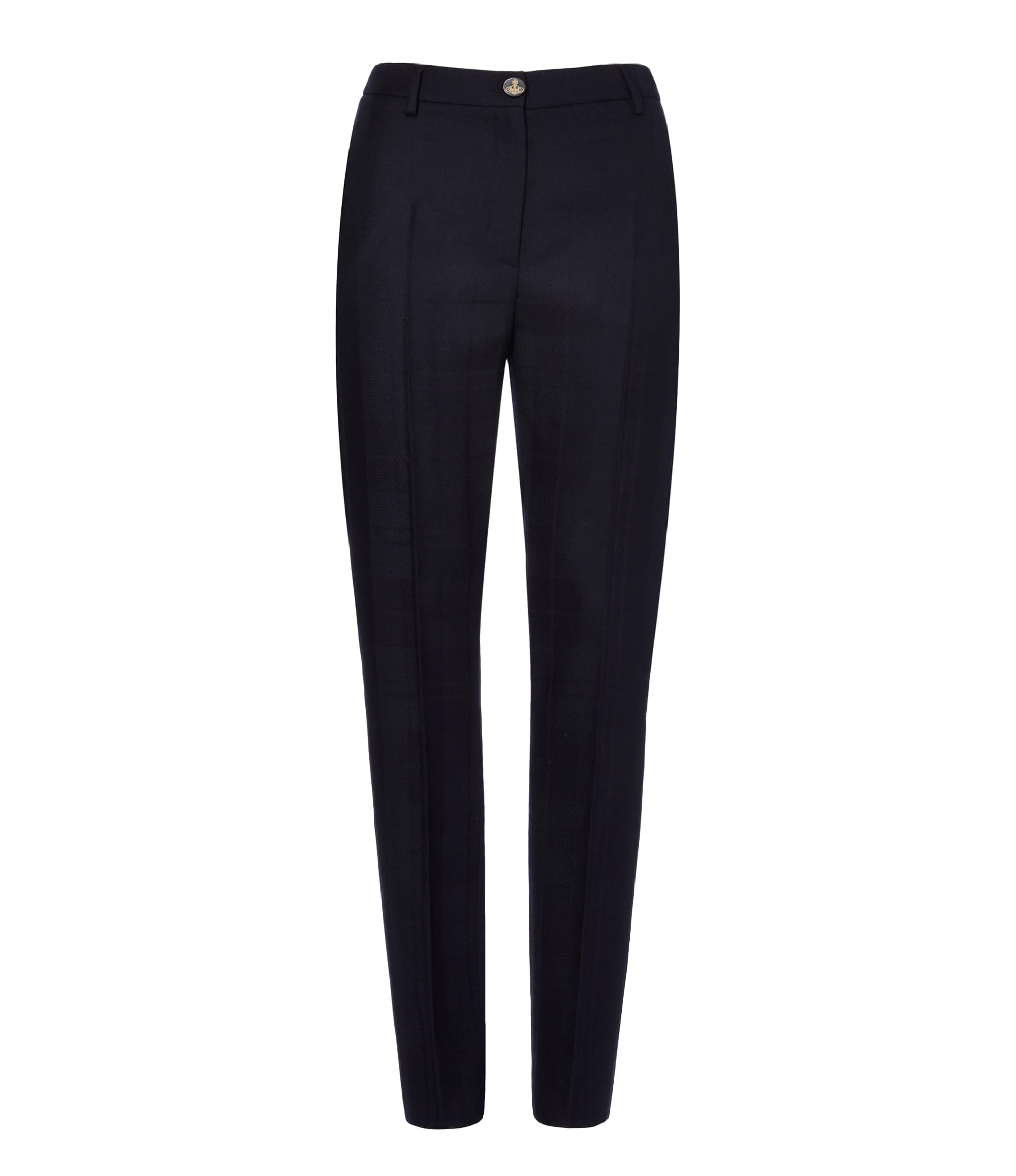 Vivienne Westwood Navy Tuxedo Trousers