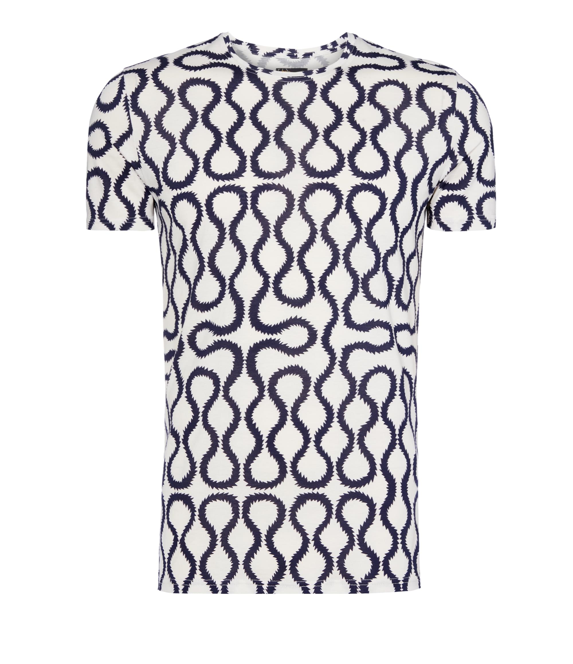 Vivienne Westwood Navy\/White Squiggle T-Shirt
