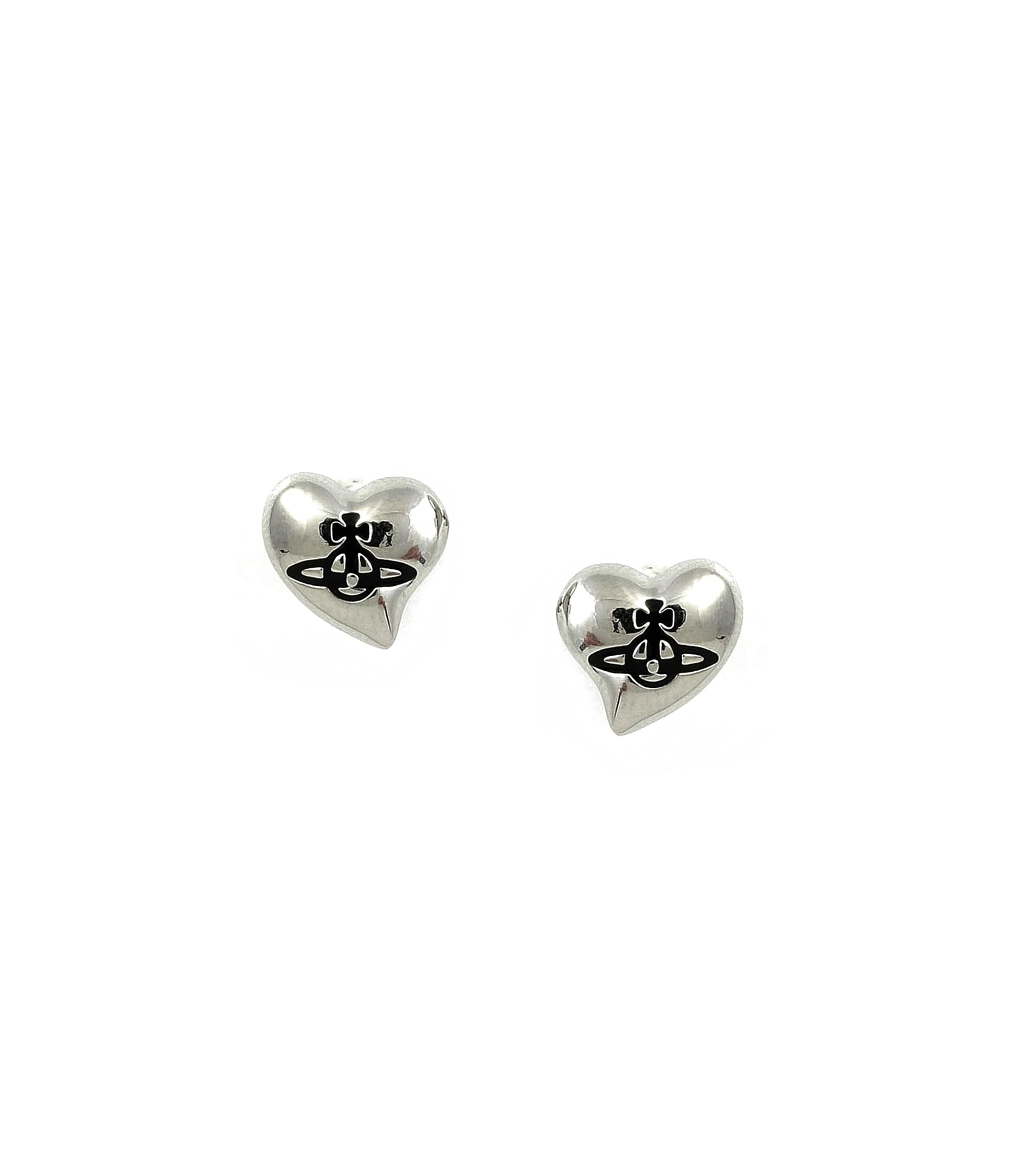 Vivienne Westwood New Heart Stud Earrings