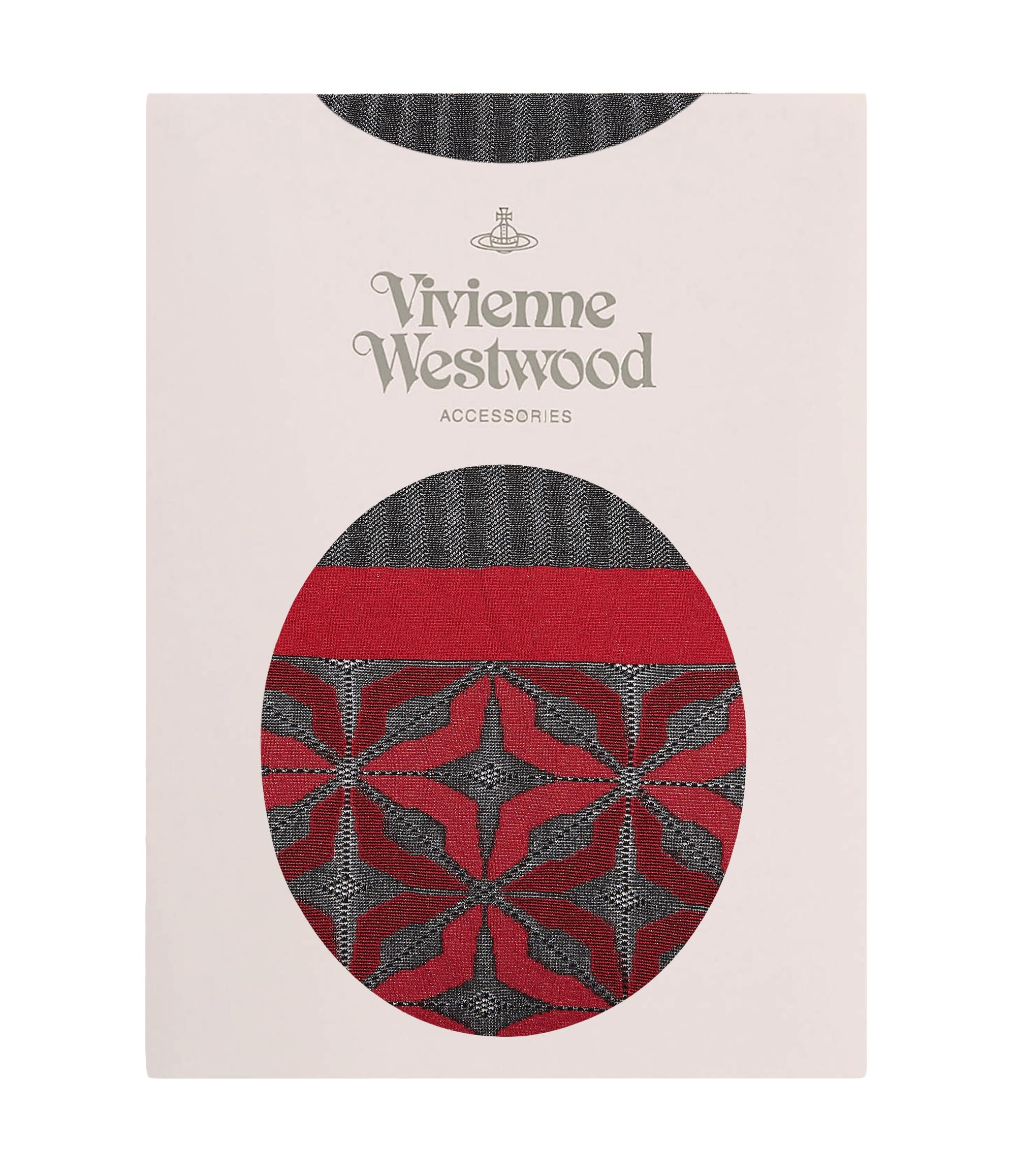 Vivienne Westwood Red Manhole Tights
