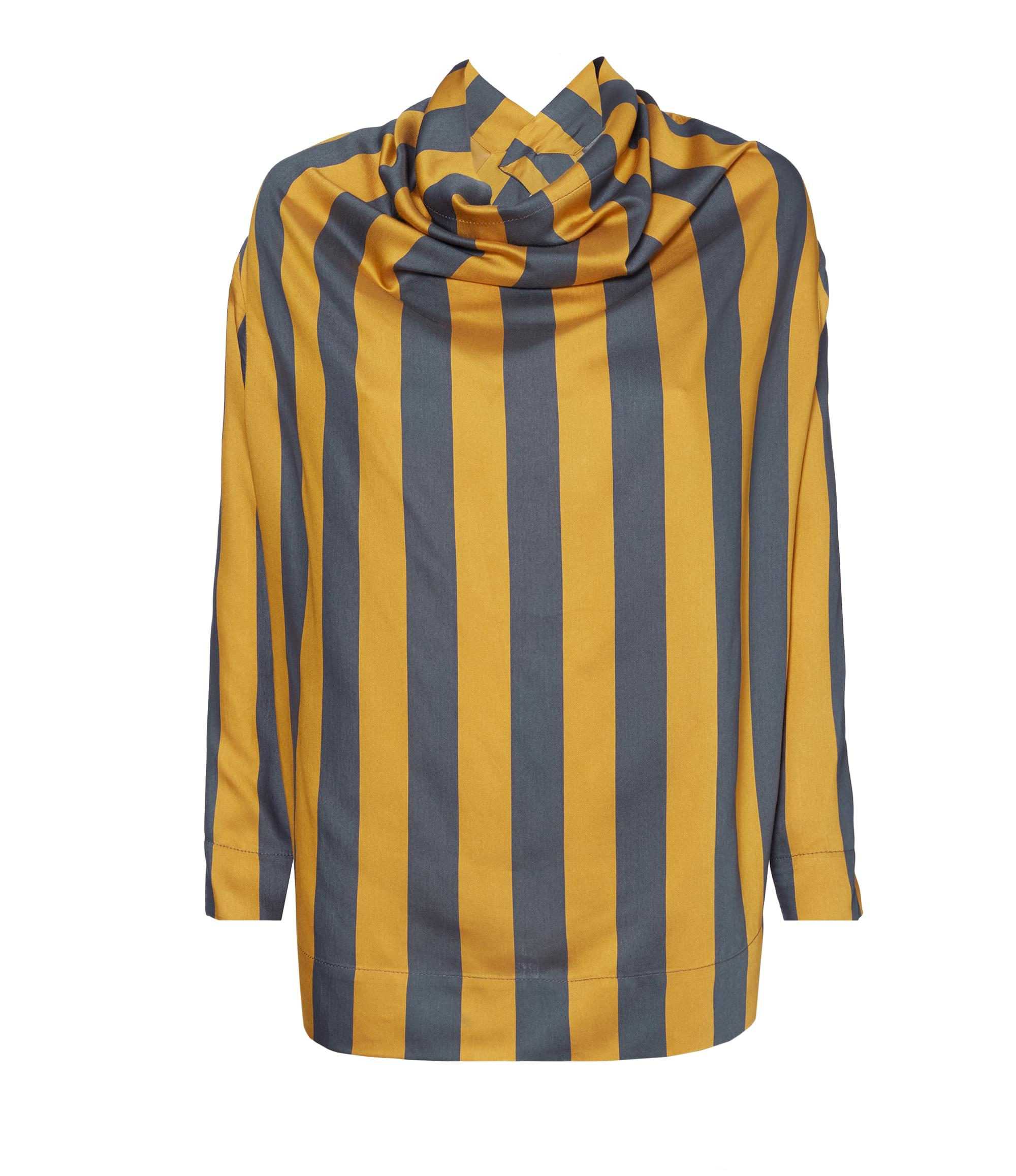 Vivienne Westwood Striped Fold Blouse