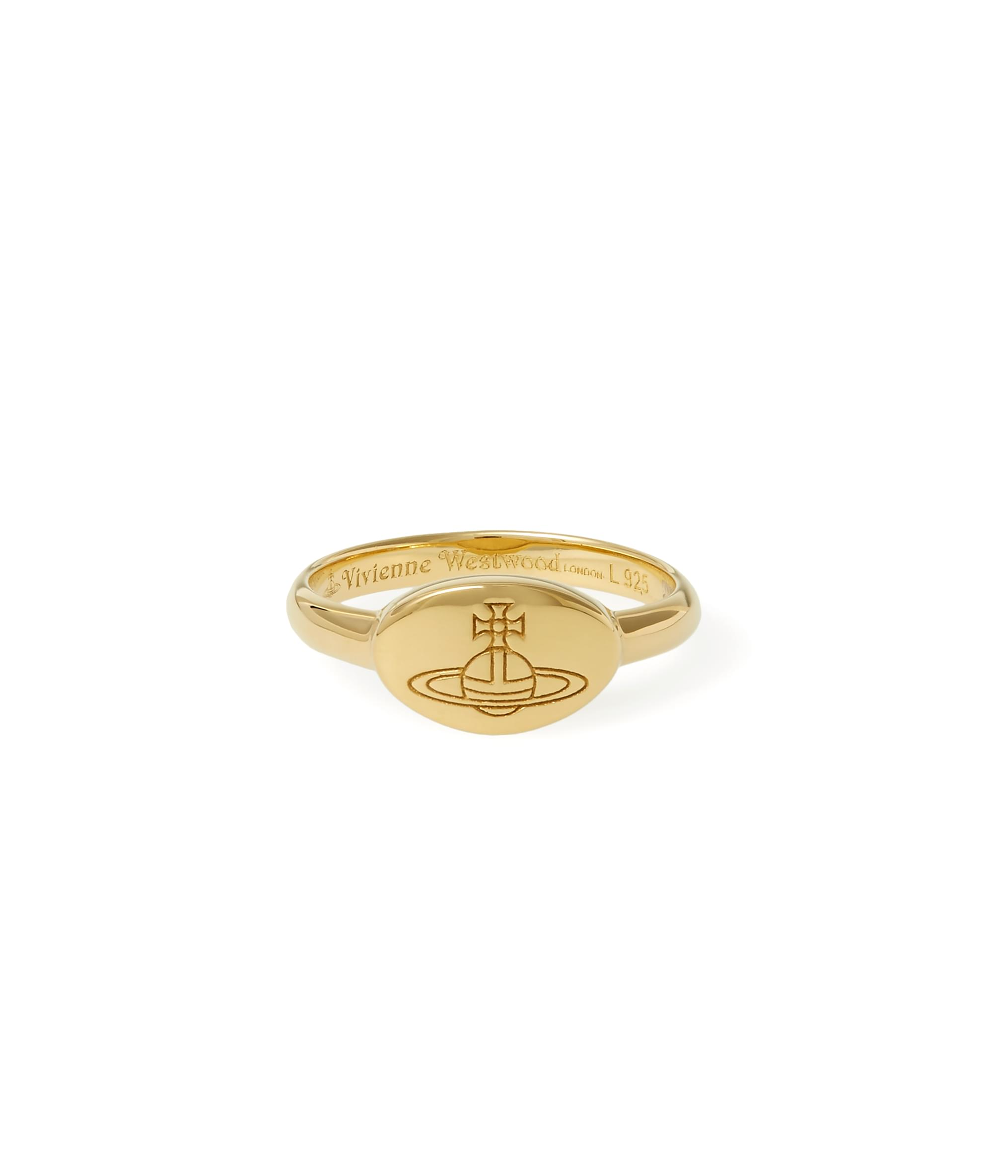 Vivienne Westwood Tilly Ring Yellow Gold