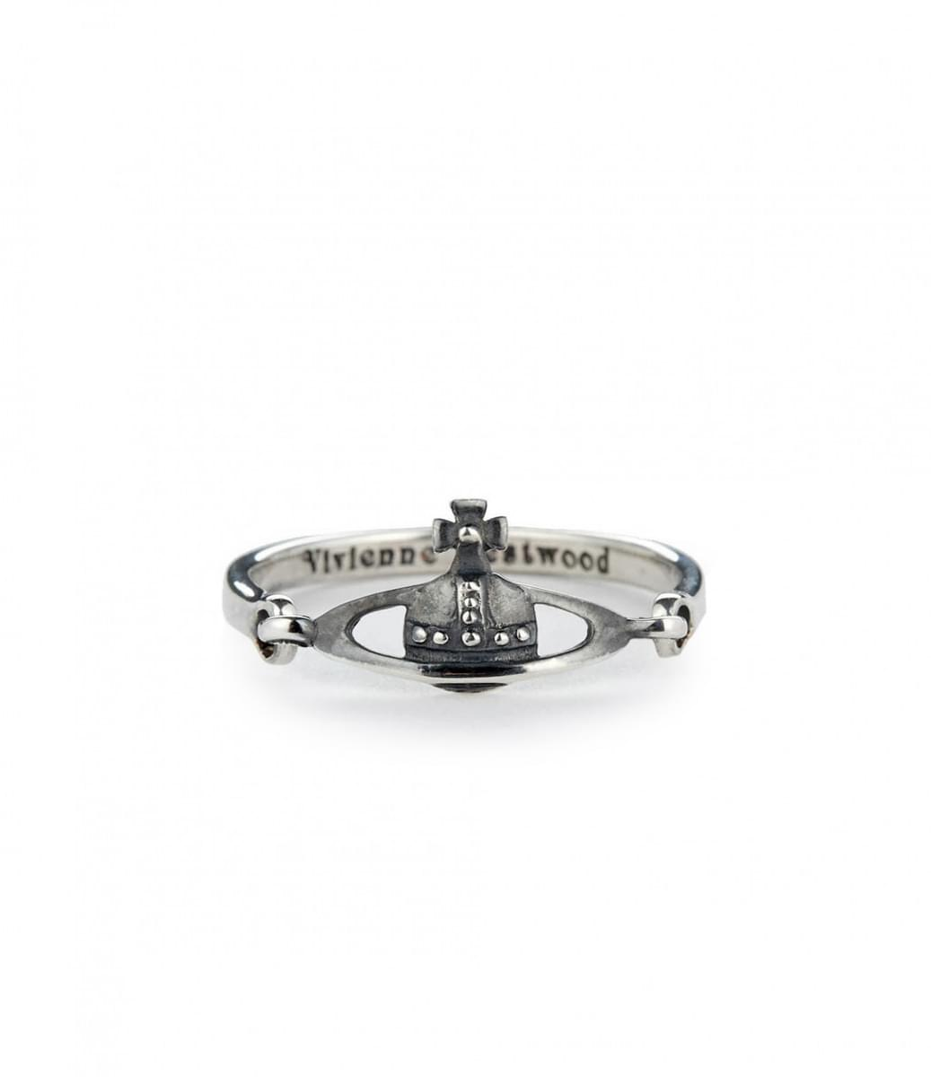 Vivienne Westwood Vendome Ring Oxidized Silver