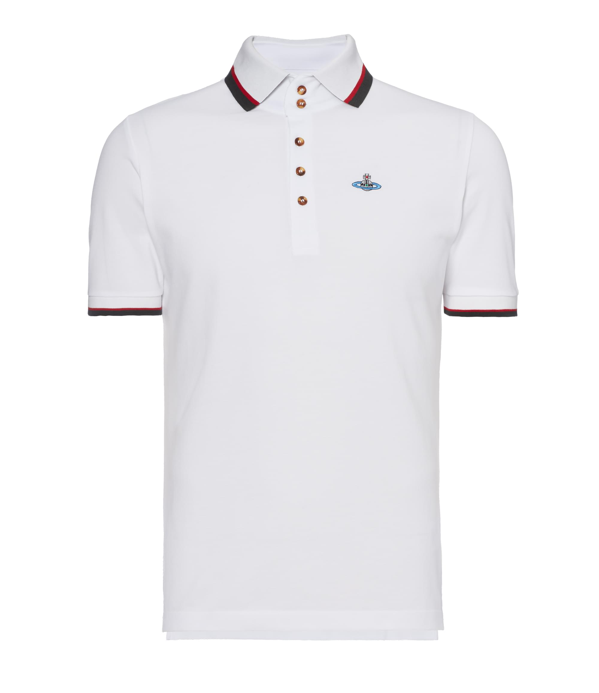 Vivienne Westwood White Krall Polo