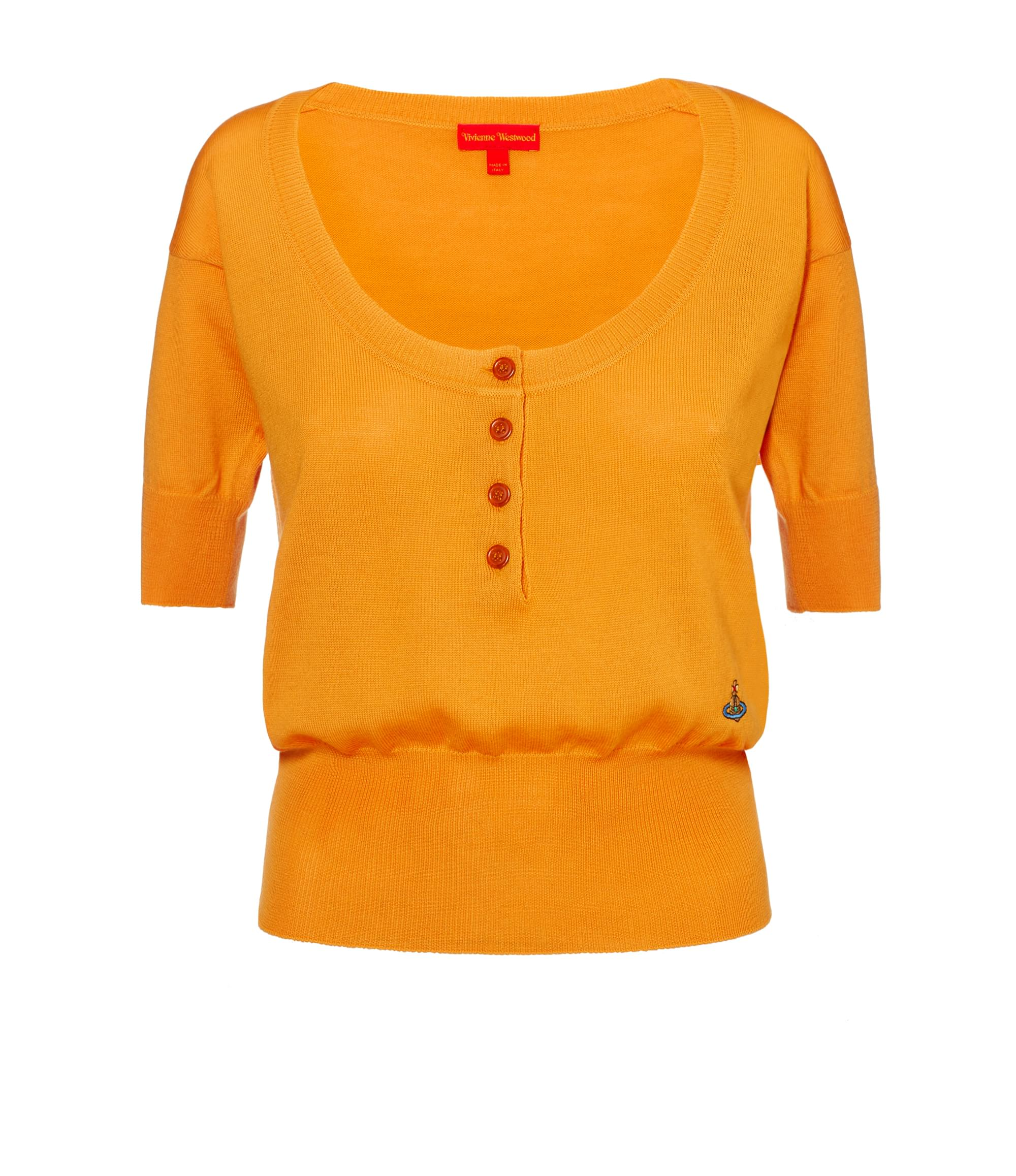 Vivienne Westwood Yellow La Lollo Polo